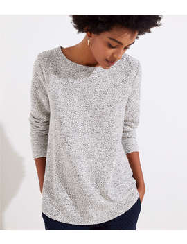 Boucle Sweatshirt by Loft