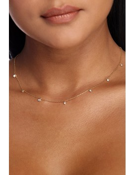 Dainty Rhinestone Necklace by Windsor