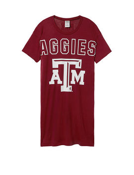 Pink  New! Texas A&M University Campus Tee Dress by Victoria's Secret