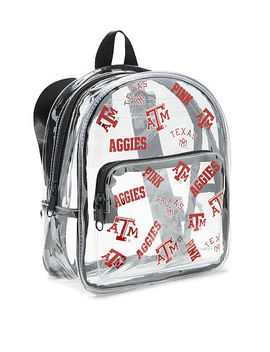 Texas A&M University Clear Micro Backpack by Victoria's Secret