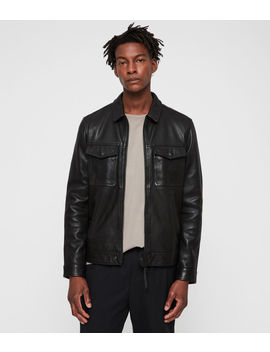Revelry Leather Jacket by Allsaints