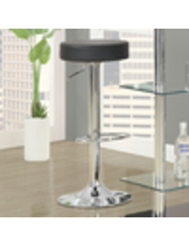 Monarch Specialties Set Of 2 Modern Chrome Counter Stools by Lowe's