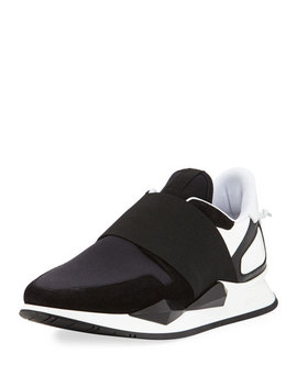 Slip On Elastic Sneakers by Givenchy