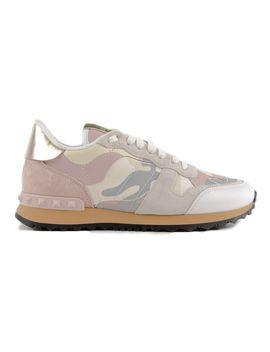 Valentino Garavani Camouflage Sneakers by Valentino Garavani