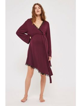 **Maternity Lace Night Robe by Topshop