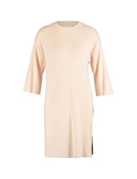 Peach Knitted Jumper Dress by Yaya
