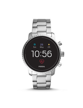 Gen 4 Smartwatch   Q Explorist Hr Stainless Steel by Fossil