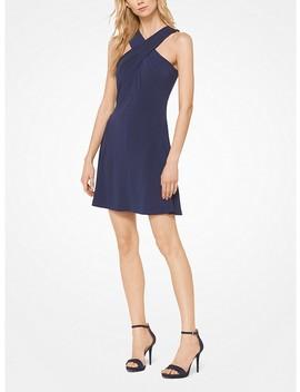 Matte Jersey Halter Dress by Michael Michael Kors