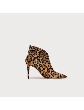 Jennifer Leopard Ankle Boots by L.K.Bennett