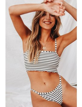 Kenzie Ribbed Bikini Set by Vergegirl