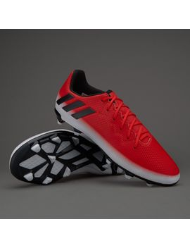 Adidas Kids Messi 16.3 Fg   Red/Core Black/White by Pro Direct Soccer