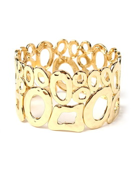 Barcelona Gold Tone Stretch Bracelet by Amrita Singh                                      Sold Out