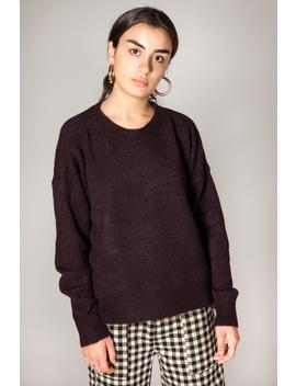 Maison Scotch Basic Crewneck Sweater   Raisin by Garmentory