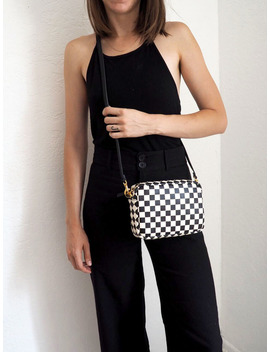 Clare V. Midi Sac Bag   Black With Checkers by Garmentory