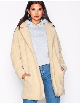Onl Aurelia Oversized Shearling Coat by Only