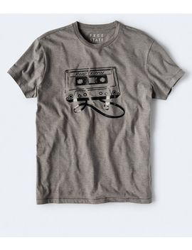Free State Cassette Graphic Tee by Aeropostale