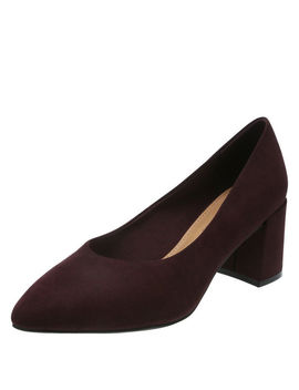 Women's Luna Block Heel Pump by Learn About The Brand Christian Siriano For Payless