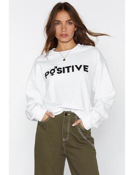 Mtv Staying Alive Positive Sweatshirt by Nasty Gal
