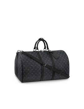 Keepall 55 Bandoulière by Louis Vuitton