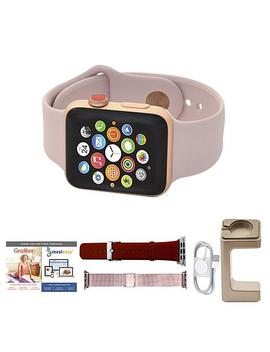 Apple Series 3 38mm Gps Sport Watch W/Calls, Texts And 2 Extra Bands by Apple