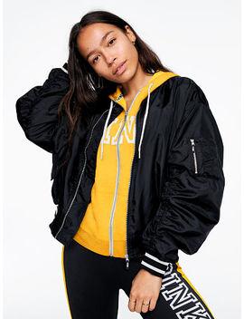 Online Exclusive! Hooded Flight Jacket by Victoria's Secret