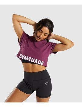 Fraction Crop Top by Gymshark