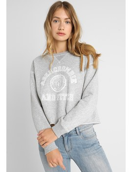 Logo Crew   Sweater by Abercrombie & Fitch