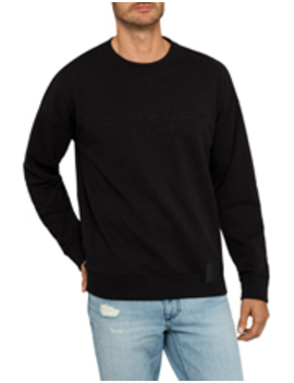 Jeans Logo And Patch Oversized Crew Sweatshirt by Calvin Klein Jeans