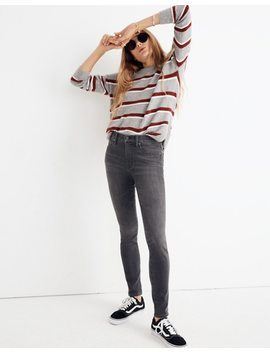 "Petite 9"" High Rise Skinny Jeans In Coltrane Wash by Madewell"