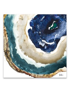 Gallery Direct Blue Agate Acrylic Wall Art by Gallery Direct
