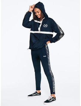 Sequin Bling Snap Funnel Neck Sport Jacket by Victoria's Secret