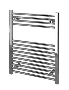 Kudox Straight Towel Radiator   Chrome 600 X 750 Mm by Wickes