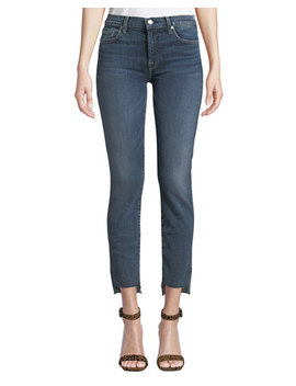 Roxanne Ankle Step Hem Skinny Jeans by 7 For All Mankind