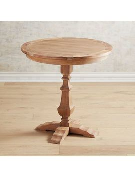 "Natural Stonewash 30"" Bistro Table by Bradding Collection"