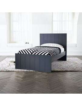 Oakton Charcoal Bed by Crate&Barrel