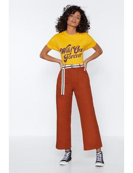 Pant Ing And Raving Wide Leg Pants by Nasty Gal