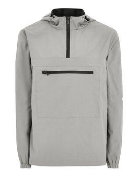 Gray Overhead Jacket by Topman