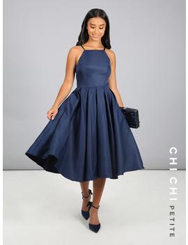 Chi Chi Petite Cassandra Dress by Chi Chi London