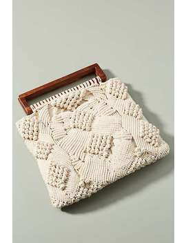 Tilda Crocheted Clutch by Cleobella