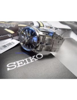 Seiko  5  Snkk71  Black Dial Stainless Steel Seiko Automatic  Snkk71 New by Seiko