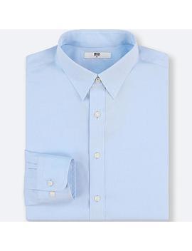 Camisa PaÑo Fino De FÁcil Cuidado Regular Fit Hombre by Uniqlo