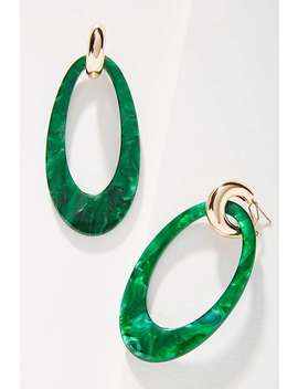 Reliquia Jewellery Opulent Hooped Post Earrings by Reliquia Jewellery