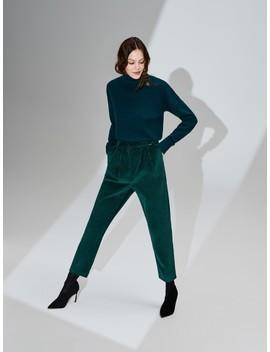 Sztruksowe Spodnie by Reserved