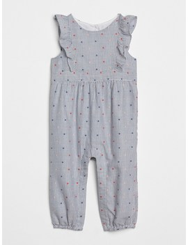 Stripe Dot Flutter One Piece by Gap