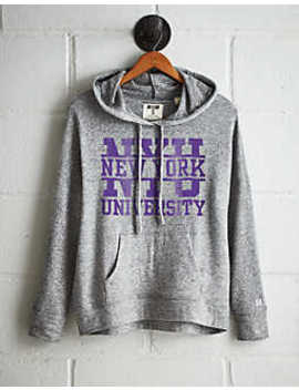 Tailgate Women's Nyu Violets Plush Hoodie by American Eagle Outfitters