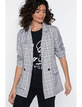 Check You Later Relaxed Blazer by Nasty Gal