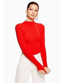 Side Button Jumper by Topshop