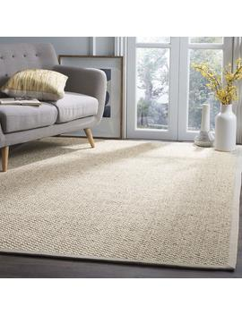Safavieh Natural Fiber Collection Nf525 C Marble Sisal Area Rug (5' X 8') by Safavieh