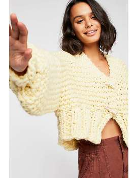 Her Cropped Sweater by Free People
