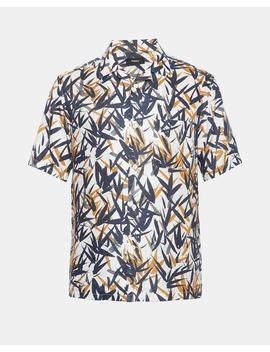 Leaf Print Shirt by Theory